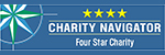 Four stars from Charity Navigator
